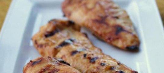 Куриные грудки с горчично-медовым соусом