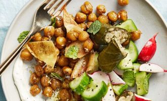Греческий салат «Меззе» от Марты Стюарт