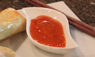 чесночный соус с шафраном