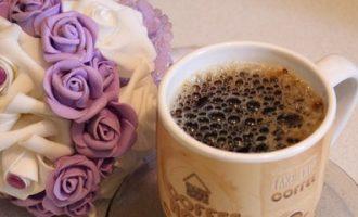 Рецепт приготовления кофе