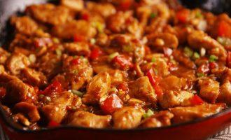 Рецепт цыпленка Кунг Пао