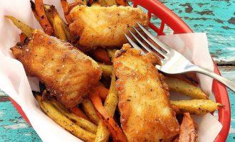 Рецепт жаренной рыба в зимнем маринаде
