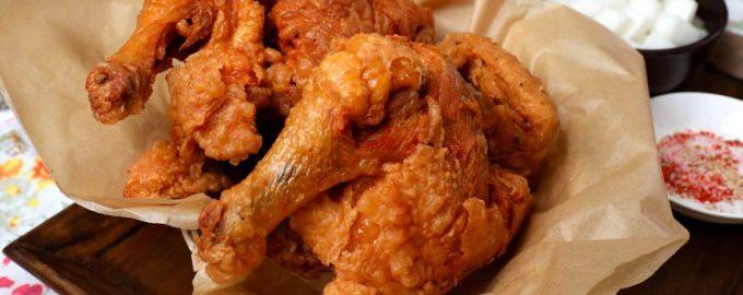 Жаренный цыпленок по-корейски